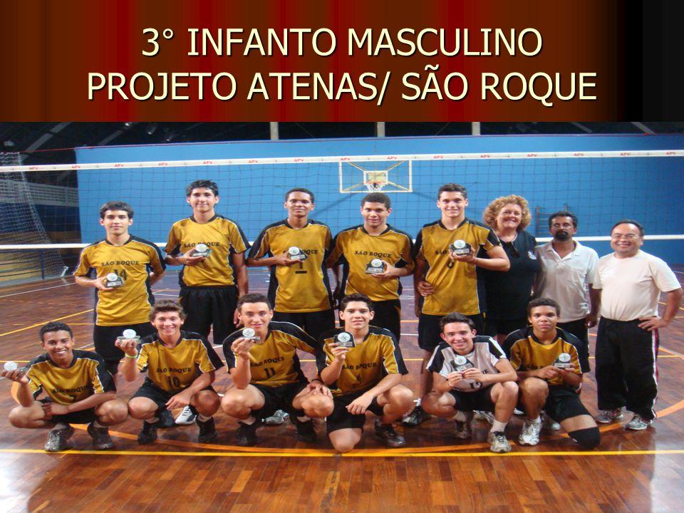 3° INFANTO MASCULINO PROJETO ATENAS/ SÃO ROQUE