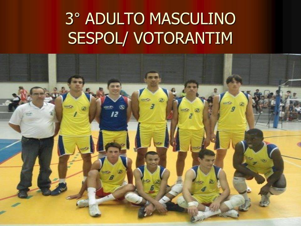 3° ADULTO MASCULINO SESPOL/ VOTORANTIM