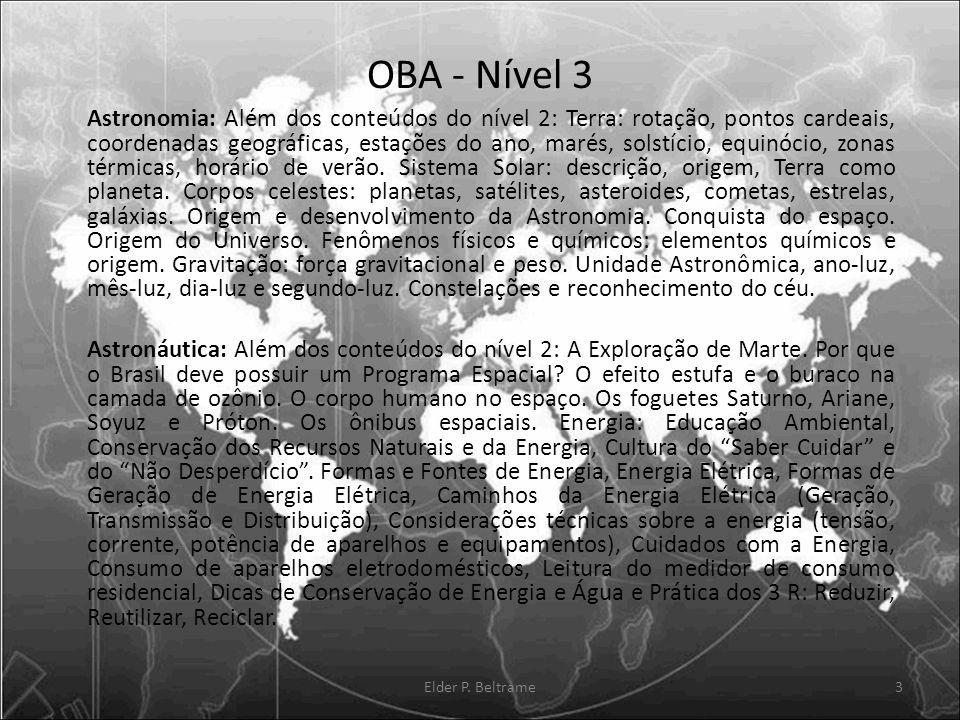 OBA - Nível 3