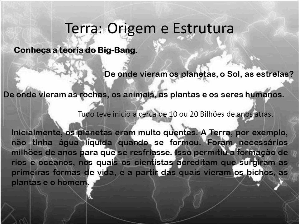 Terra: Origem e Estrutura