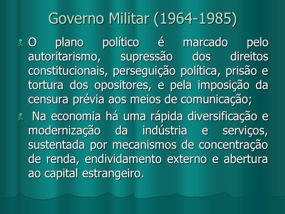 Governo Militar (1964-1985)