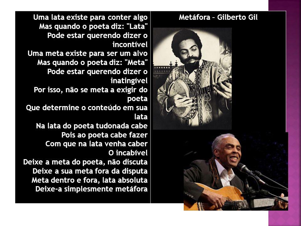 Metáfora – Gilberto Gil