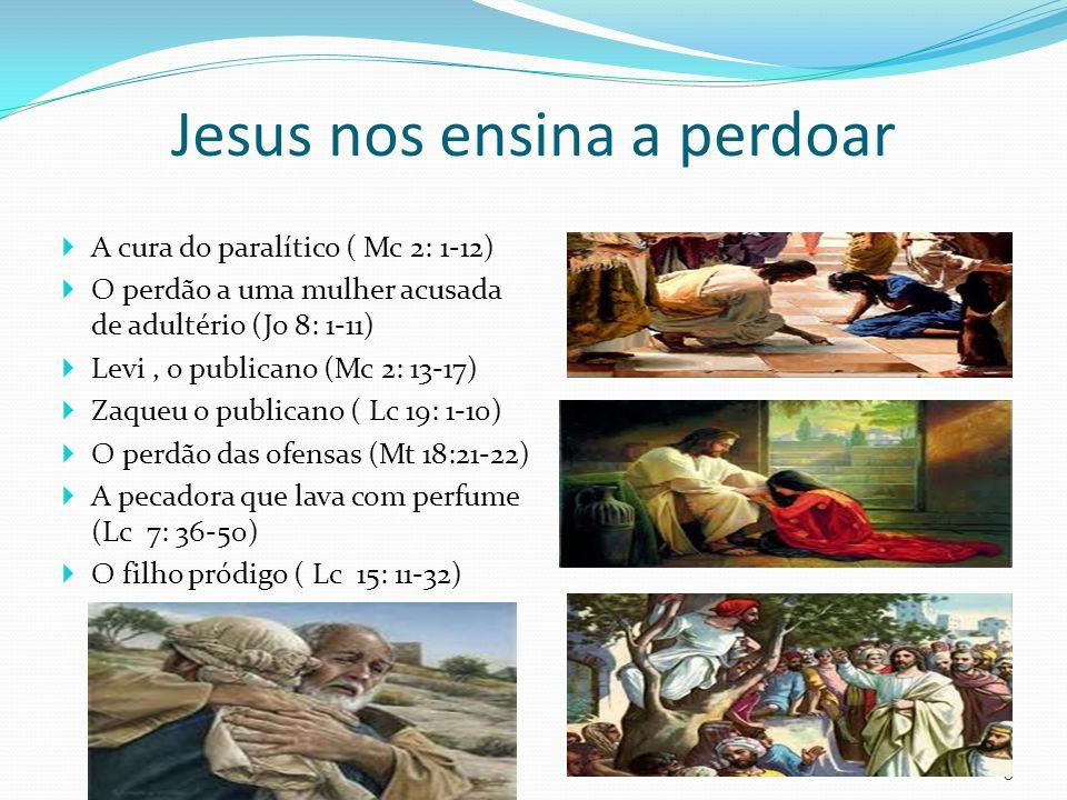 Jesus nos ensina a perdoar