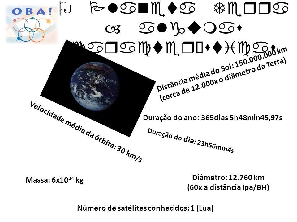 O Planeta Terra – algumas características