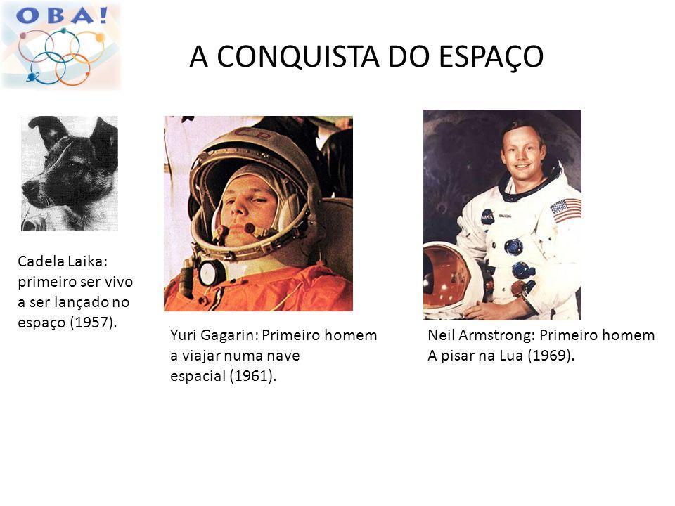 A CONQUISTA DO ESPAÇO Cadela Laika: primeiro ser vivo a ser lançado no