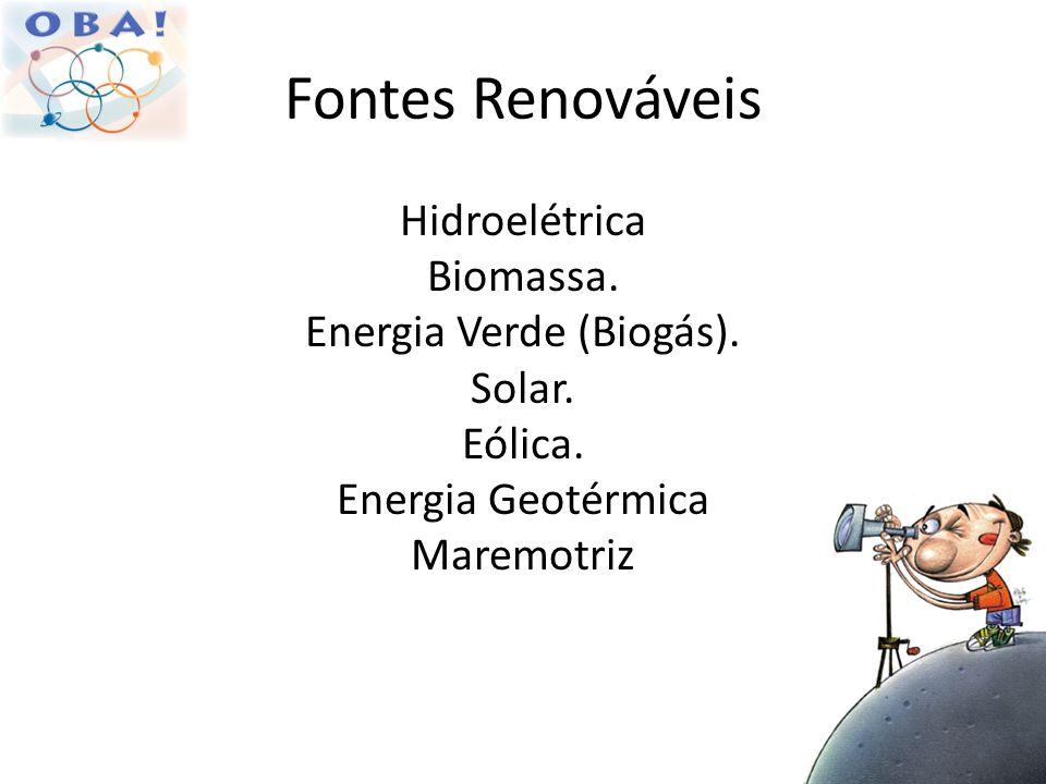 Energia Verde (Biogás).