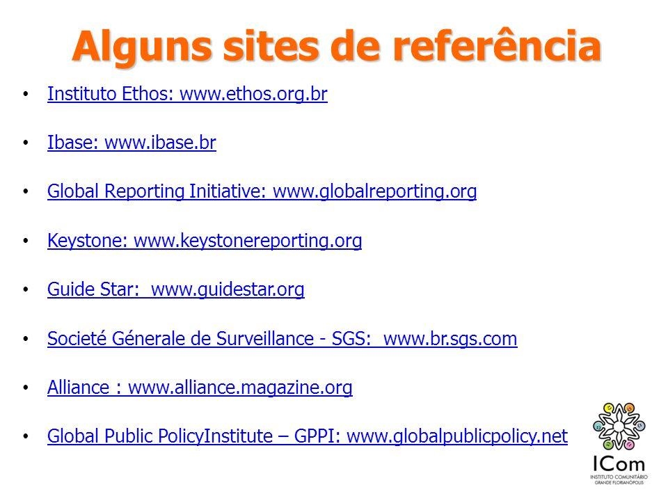 Alguns sites de referência
