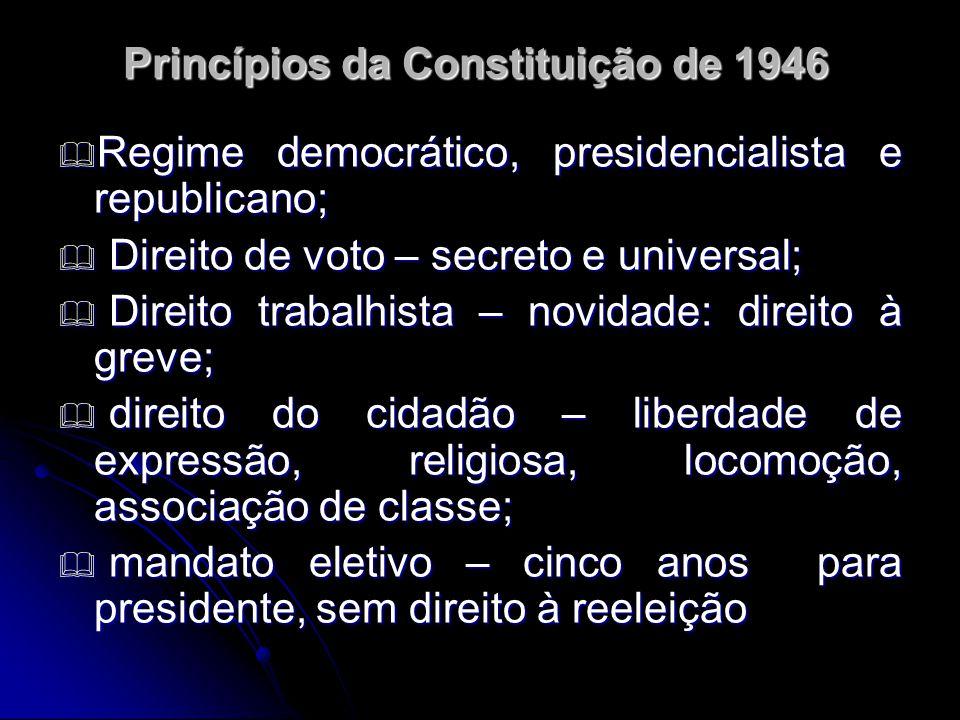 Princípios da Constituição de 1946