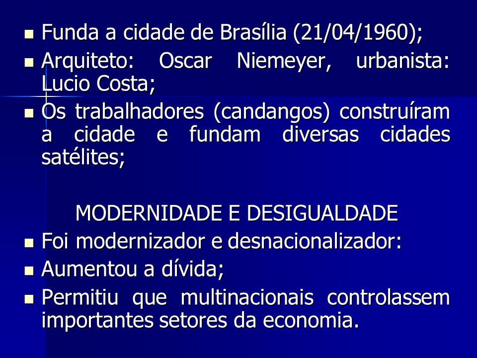 MODERNIDADE E DESIGUALDADE