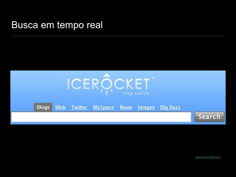 Busca em tempo real www.icerocket.com