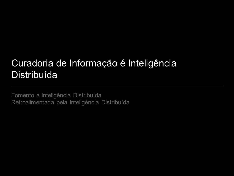 Curadoria de Informação é Inteligência Distribuída