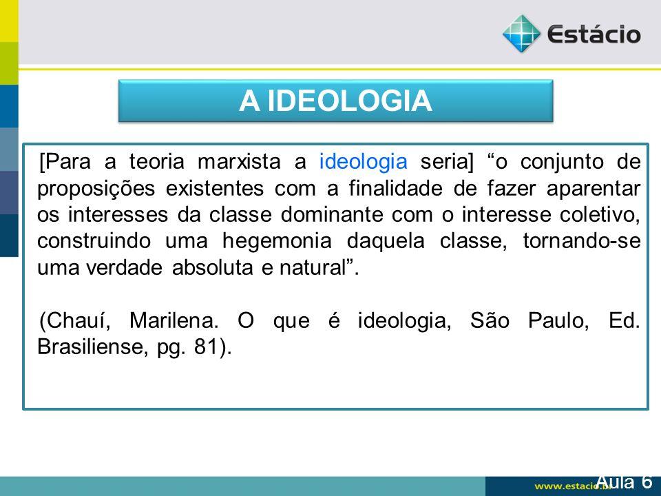 A IDEOLOGIA