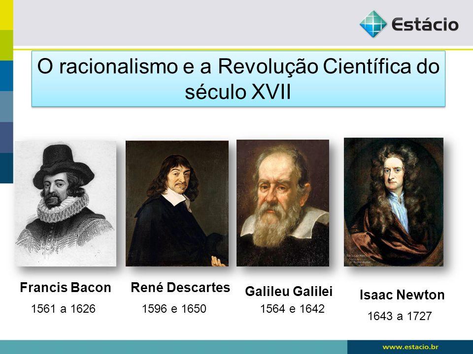 O racionalismo e a Revolução Científica do século XVII