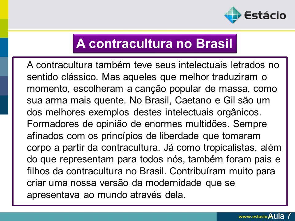 A contracultura no Brasil