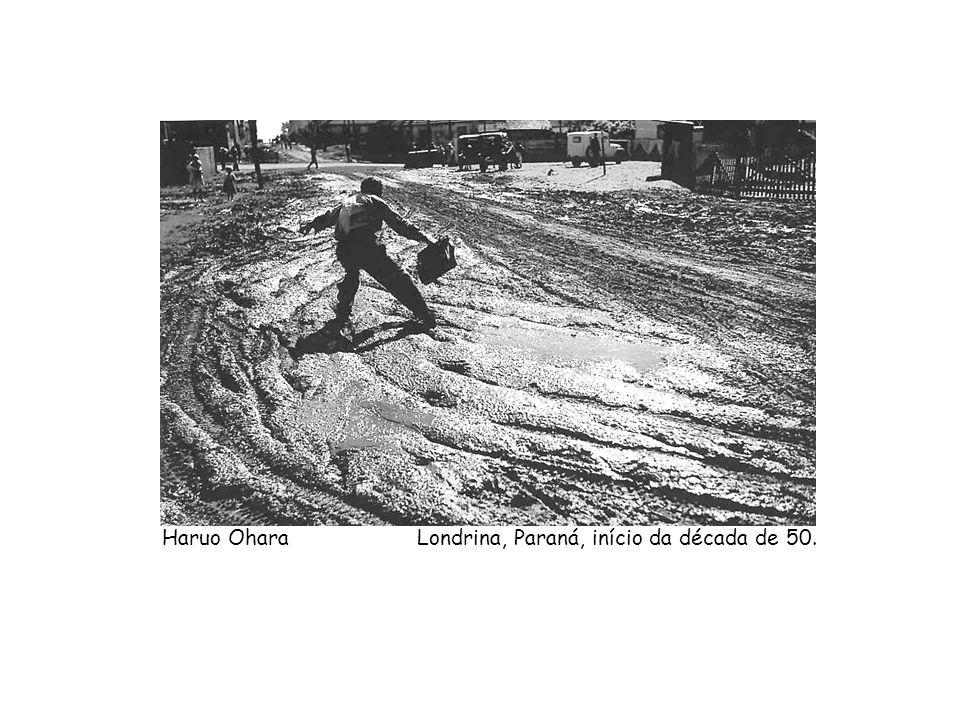 Haruo Ohara Londrina, Paraná, início da década de 50.