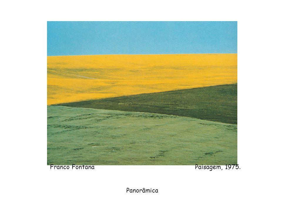 Franco Fontana Paisagem, 1975.