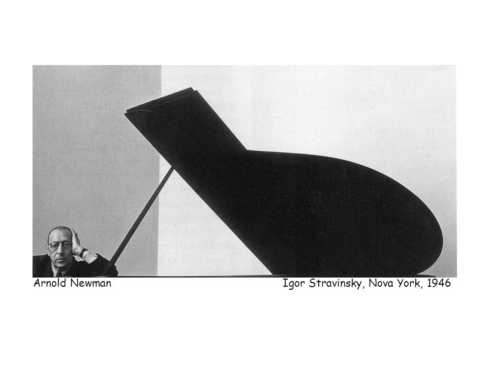Arnold Newman Igor Stravinsky, Nova York, 1946