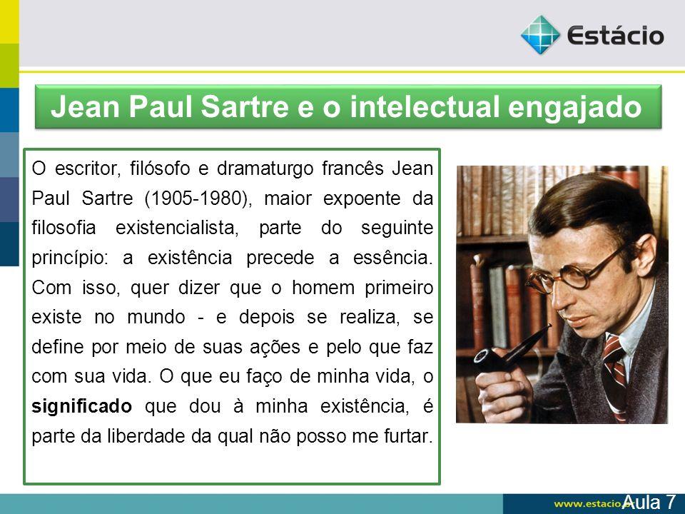 Jean Paul Sartre e o intelectual engajado