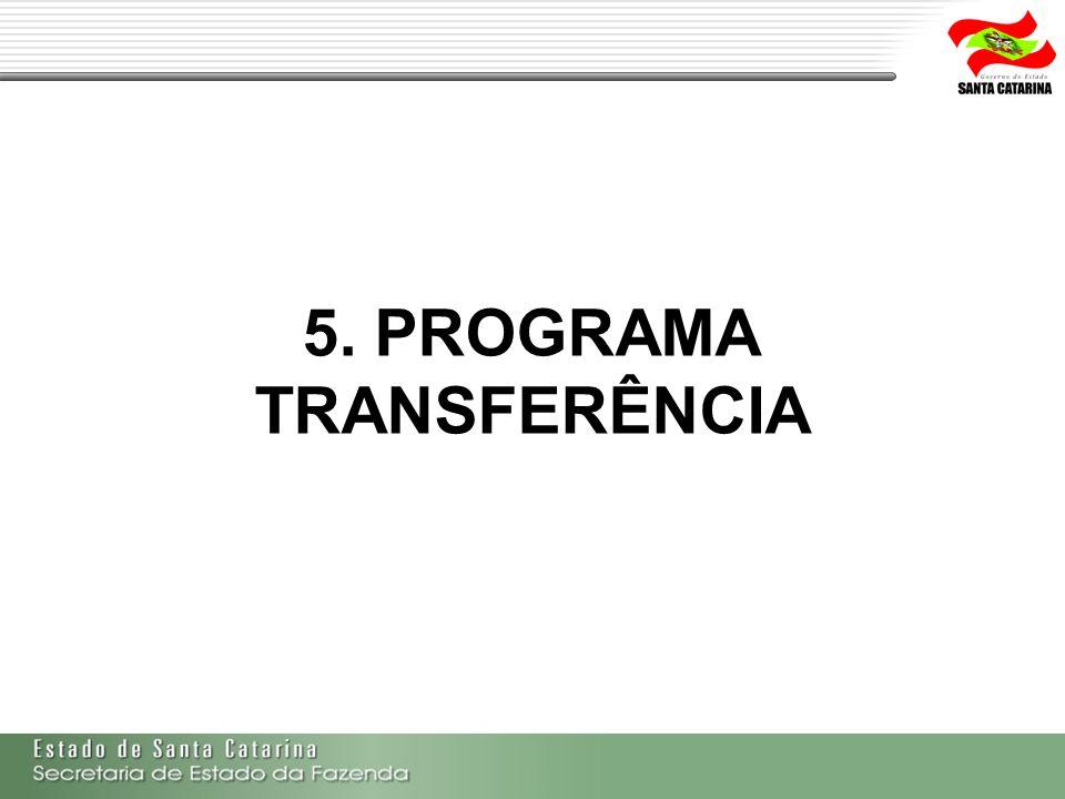 5. PROGRAMA TRANSFERÊNCIA