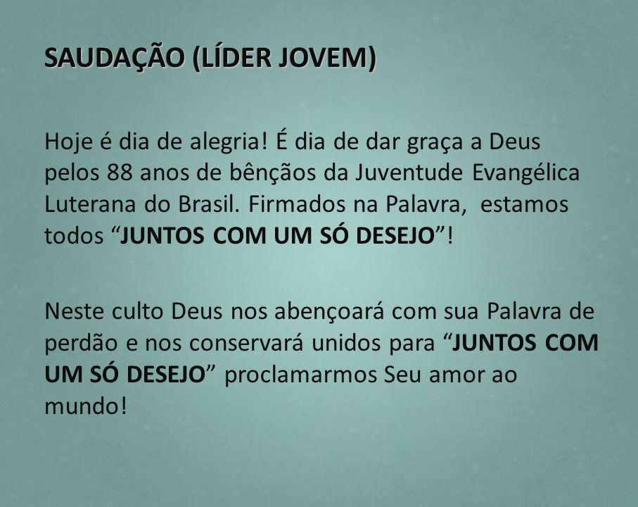 SAUDAÇÃO (LÍDER JOVEM)