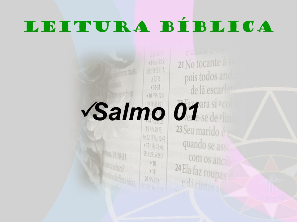 Leitura Bíblica Salmo 01