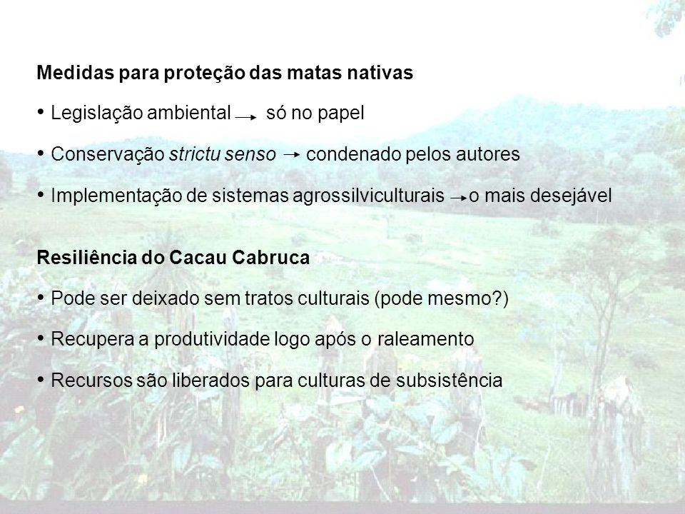 Legislação ambiental só no papel