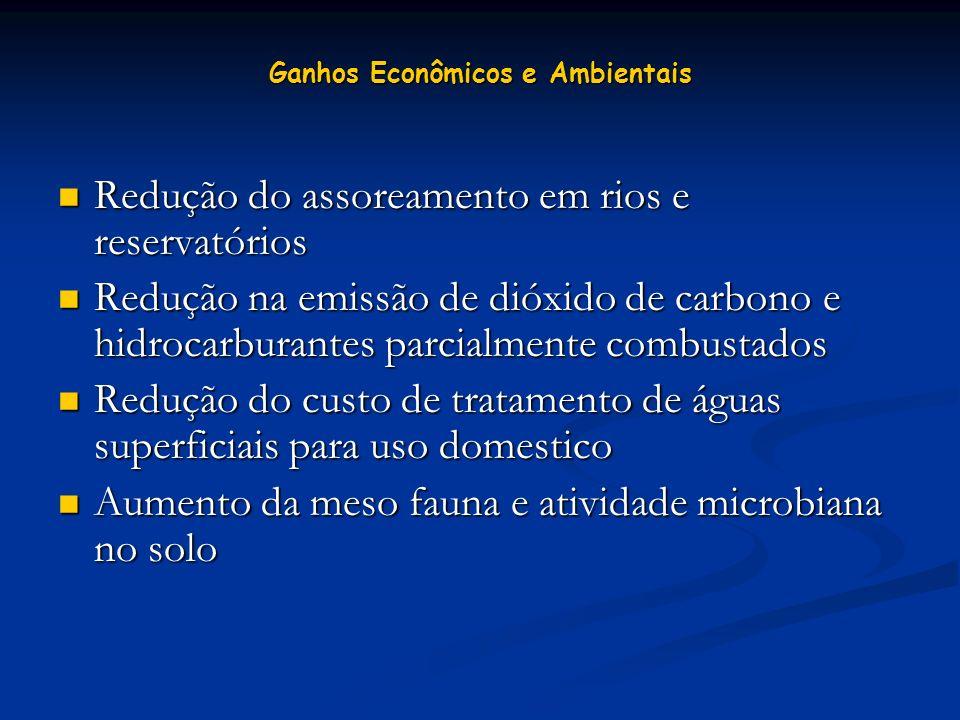 Ganhos Econômicos e Ambientais
