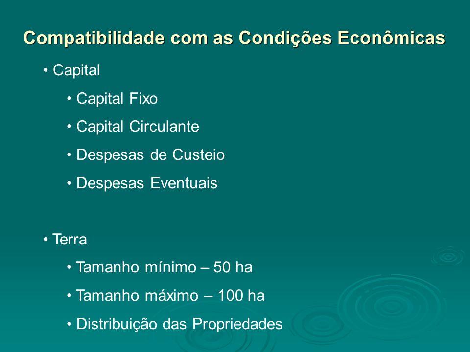 Compatibilidade com as Condições Econômicas