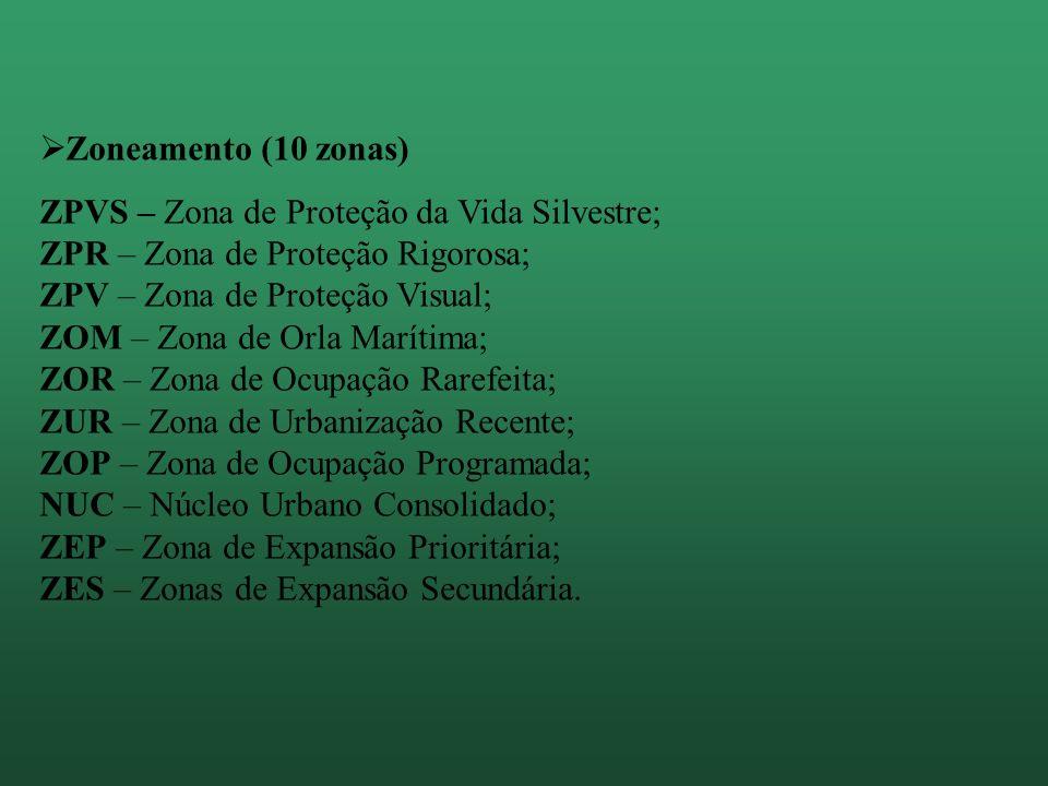 Zoneamento (10 zonas)