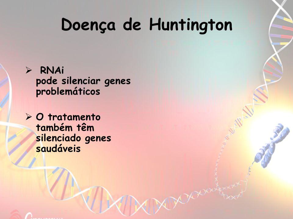 Doença de Huntington RNAi pode silenciar genes problemáticos