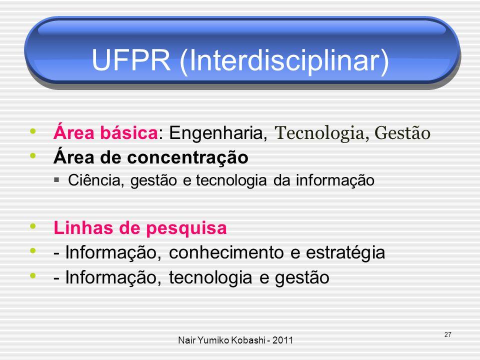 UFPR (Interdisciplinar)