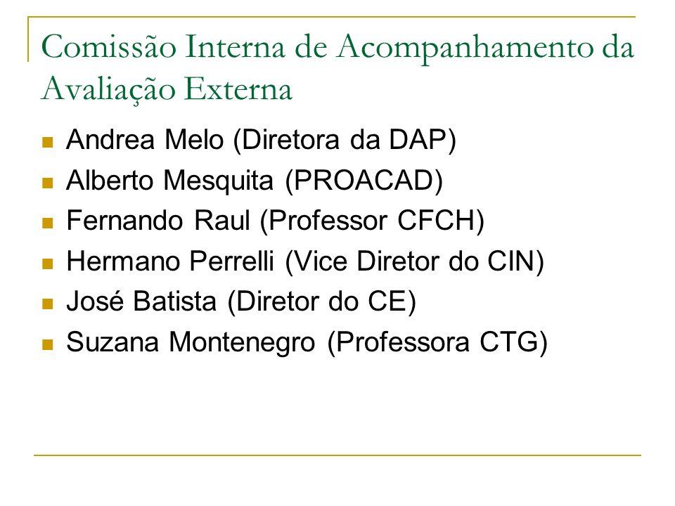 Comissão Interna de Acompanhamento da Avaliação Externa