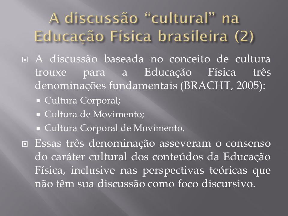 A discussão cultural na Educação Física brasileira (2)