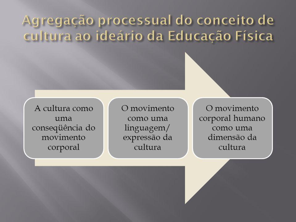 Agregação processual do conceito de cultura ao ideário da Educação Física