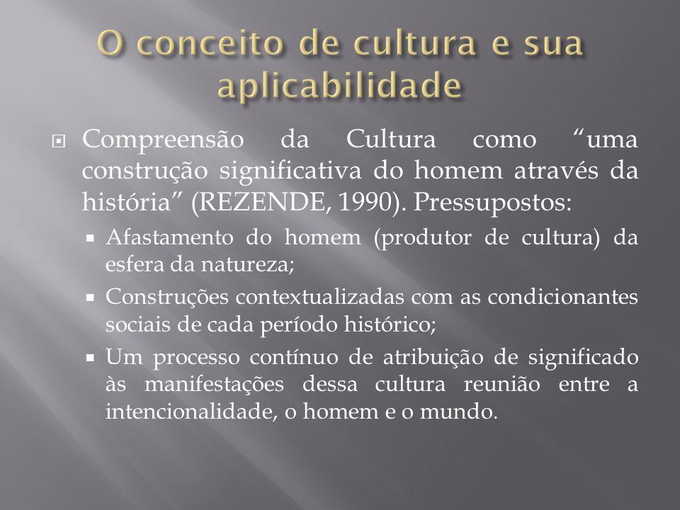 O conceito de cultura e sua aplicabilidade