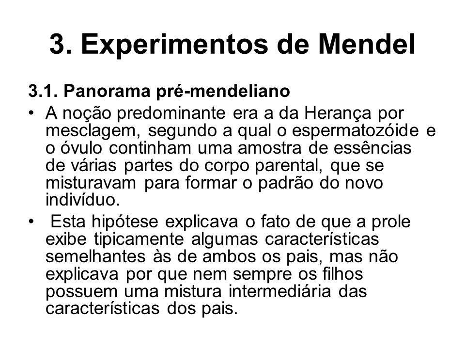 3. Experimentos de Mendel