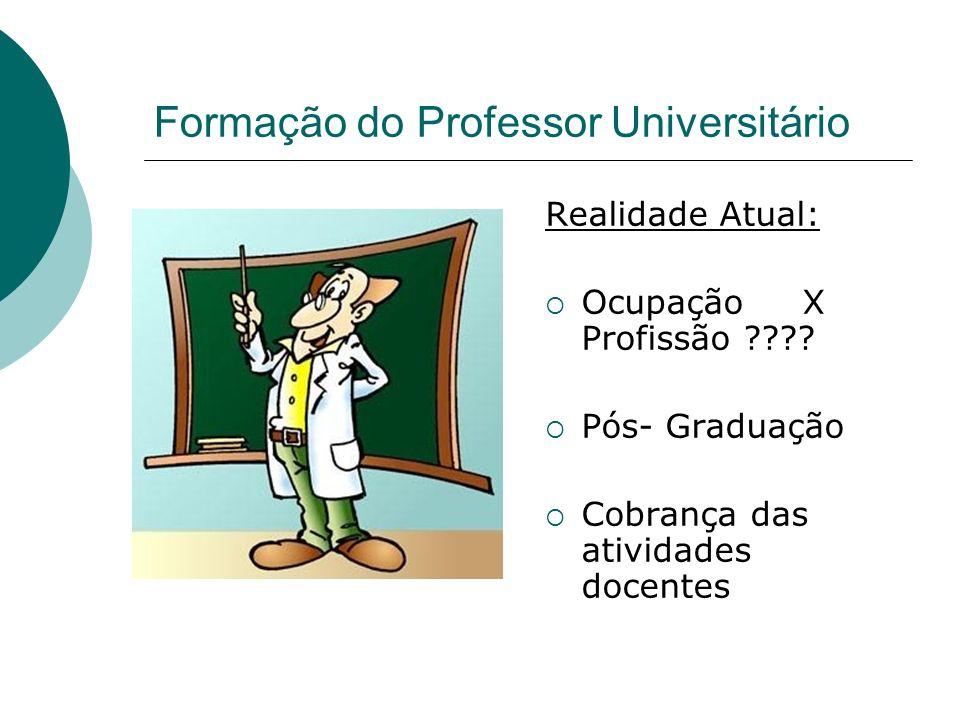 Formação do Professor Universitário