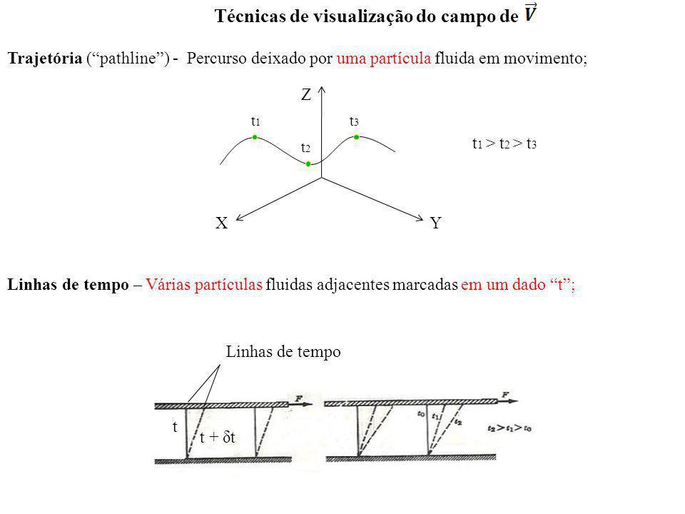 Técnicas de visualização do campo de