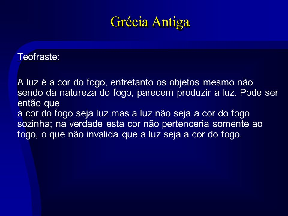 Grécia Antiga Teofraste: