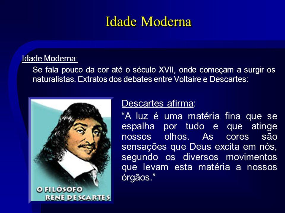 Idade Moderna Descartes afirma: