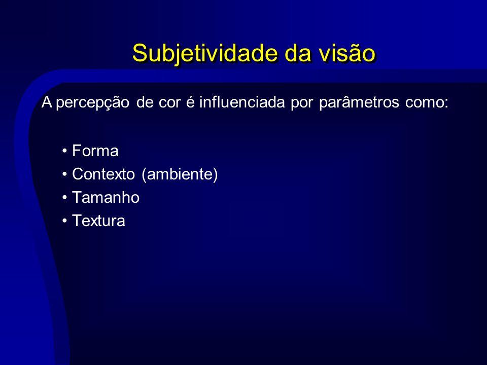 Subjetividade da visão