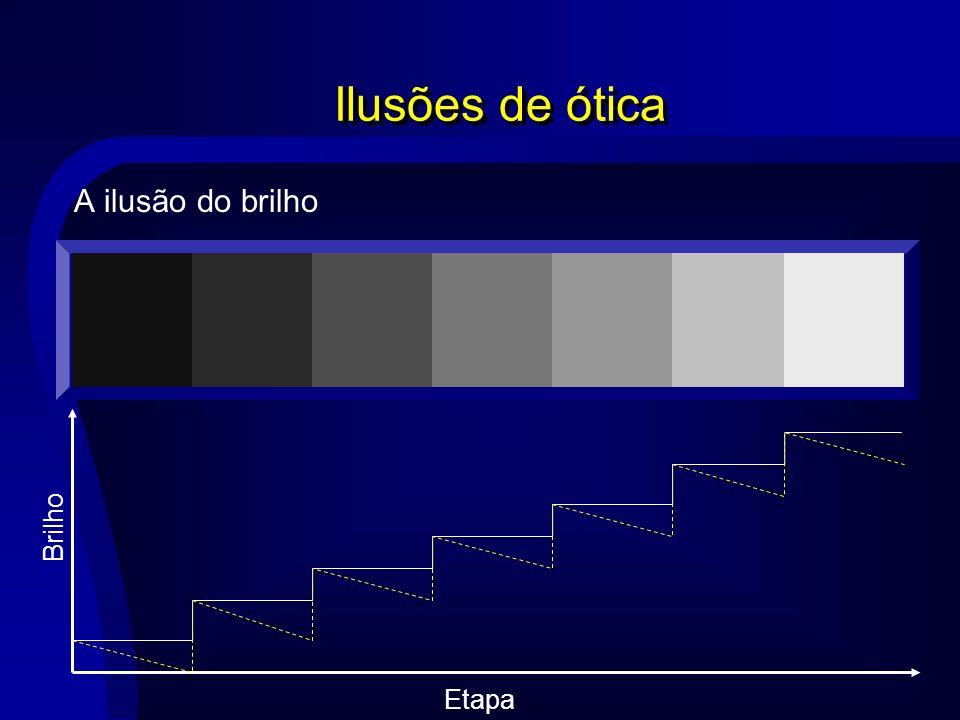 Ilusões de ótica A ilusão do brilho Etapa Brilho