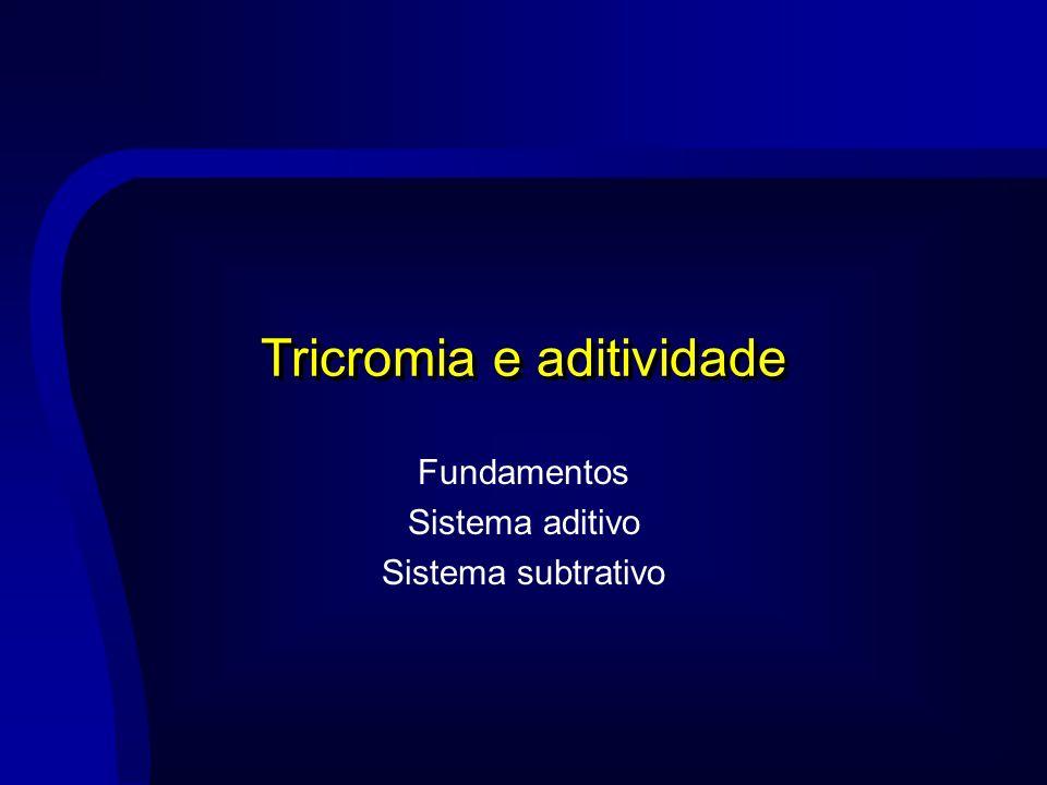 Tricromia e aditividade