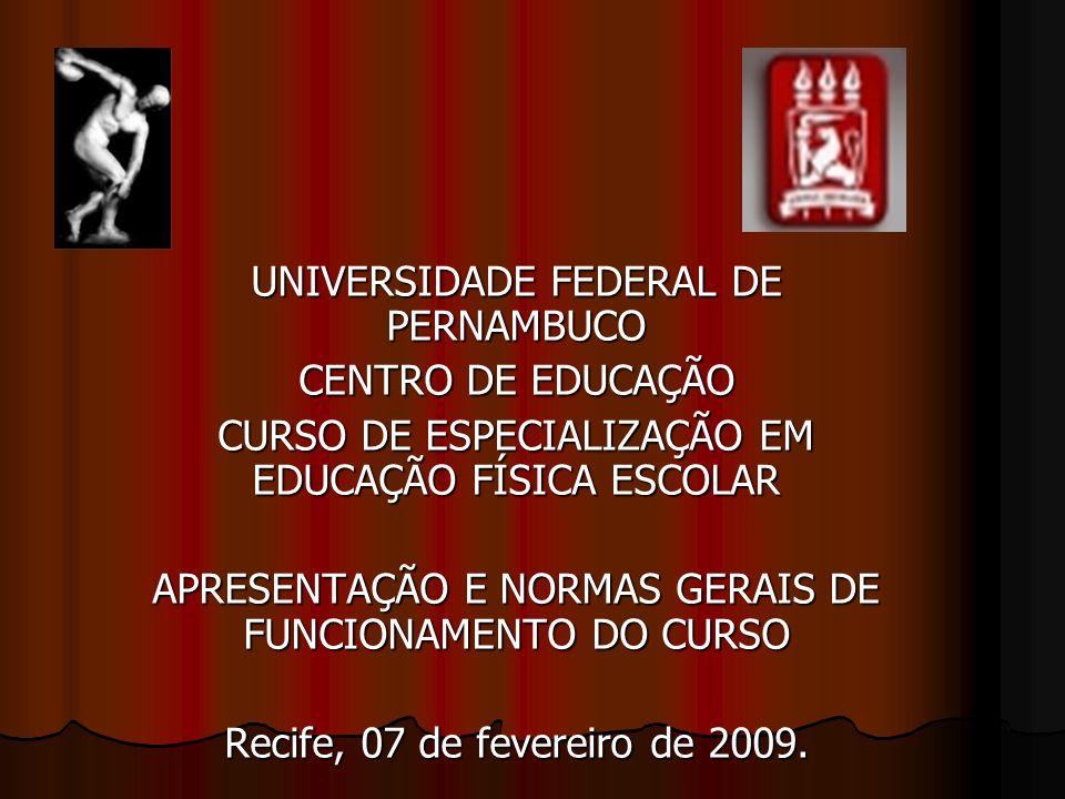 UNIVERSIDADE FEDERAL DE PERNAMBUCO CENTRO DE EDUCAÇÃO