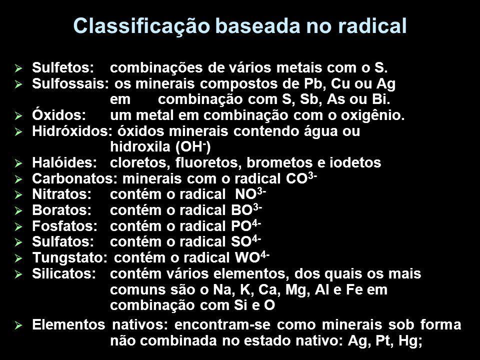 Classificação baseada no radical