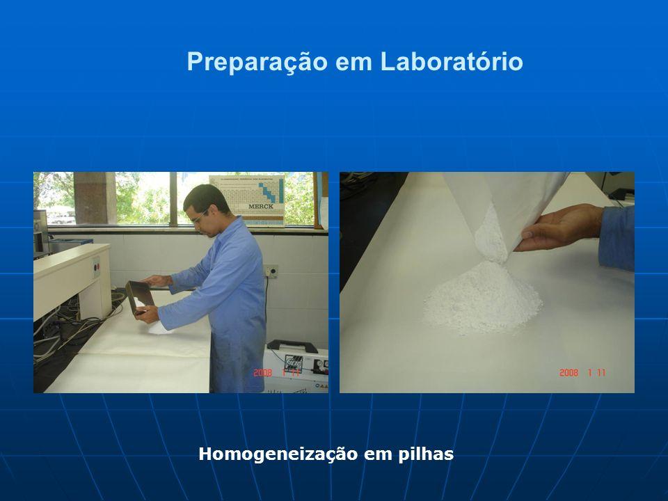 Preparação em Laboratório