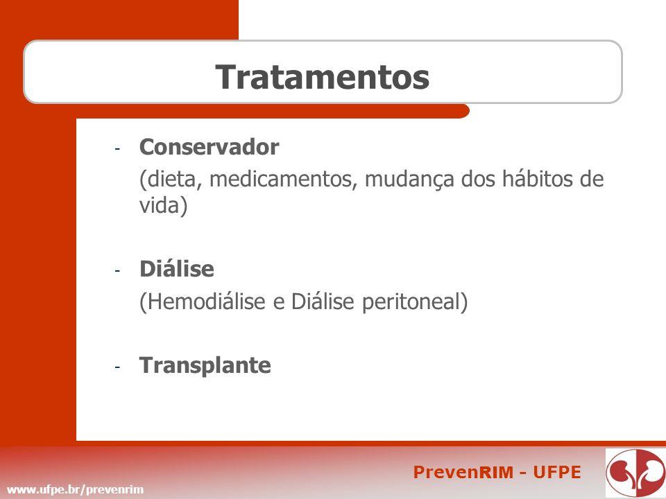 Tratamentos Conservador