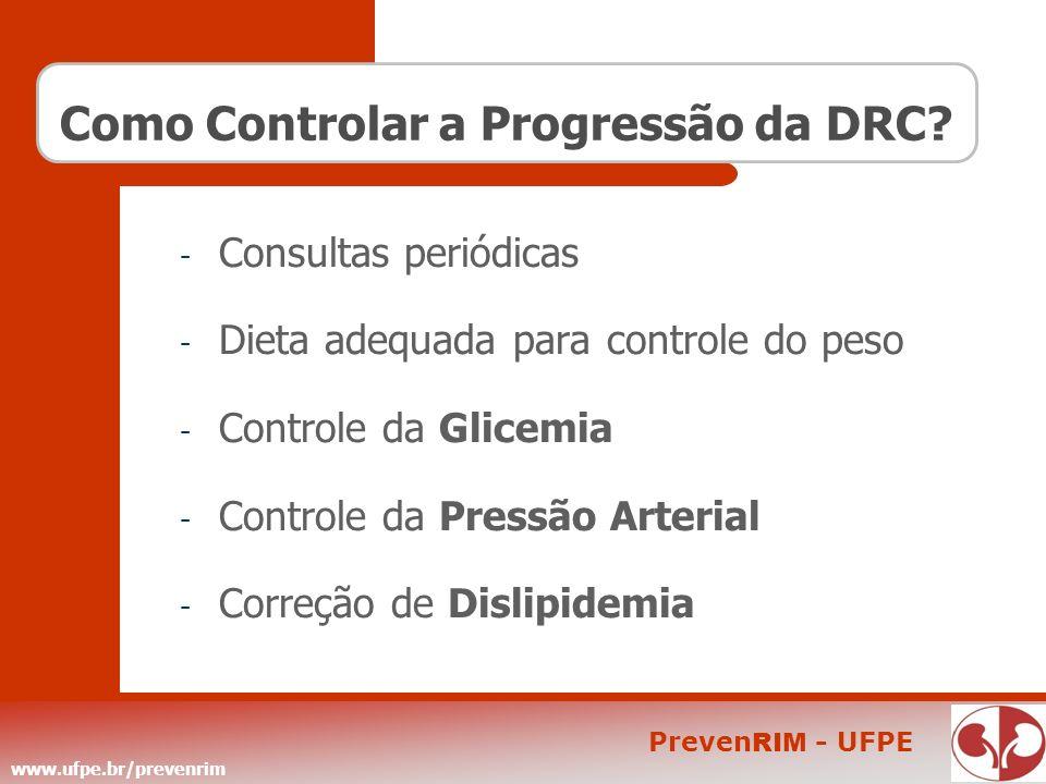 Como Controlar a Progressão da DRC