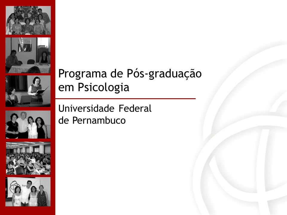 Programa de Pós-graduação em Psicologia