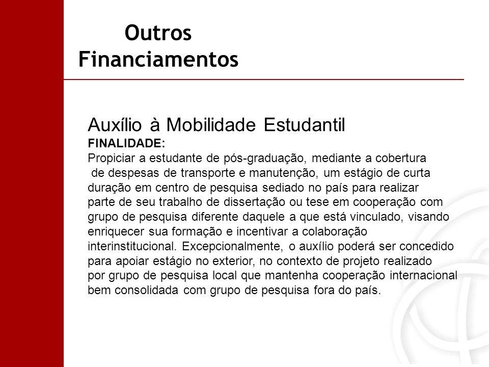 Outros Financiamentos